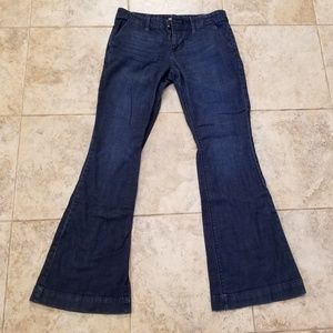 Mossimo Good Condition Flare Legged Blue Jeans!